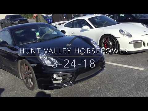 Car Show Crazy! Episode 1: Hunt Valley Horsepower! (3-24-18!)