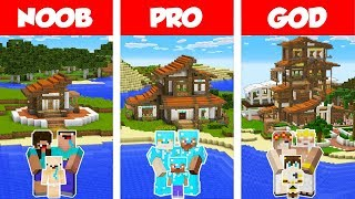 minecraft-noob-vs-pro-vs-god-tropical-family-house-build-challenge-in-minecraft-animation