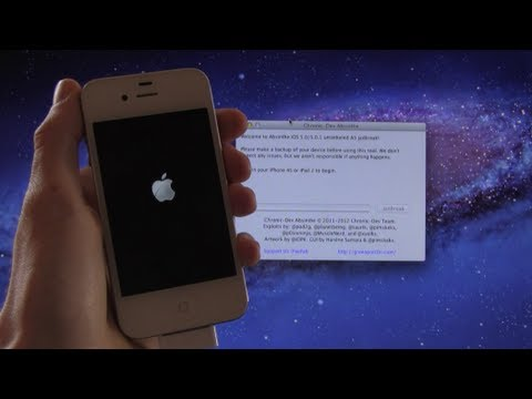 Jailbreak IOS 6.1, 5.0.1 IPhone 4S, IPad 2  Untethered Via Absinthe