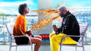 EXTREME Coke and Mentos Try Not To Laugh CHALLENGE!