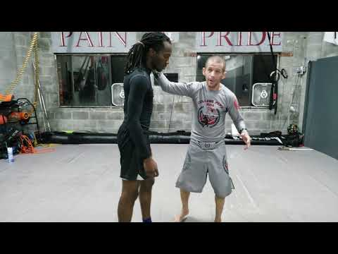 Flying scissor takedown lesson