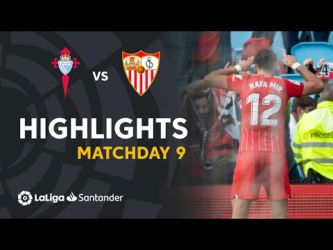 Celta Vigo Sevilla Goals And Highlights