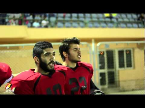 Egyptian Bowl 2015 highlights (GUC Eagles vs. Hell Hounds)