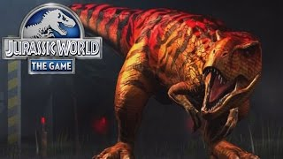 Jurassic World The Game (iOS/Android) T-REX BOSS FIGHT Lets play Gameplay Walkthrough part 6