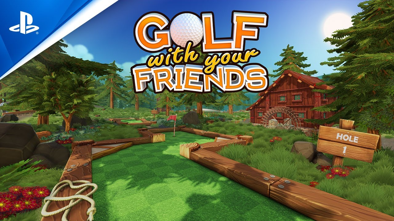 Golf With Your Friends - The Deep Update Trailer | PS4