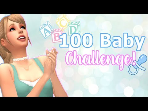 LIVE! ?100 BABY CHALLENGE? ~ The Sims 4 #13 thumbnail