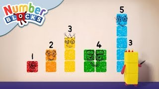 Numberblocks - Colourful Math | Learn to Count thumbnail