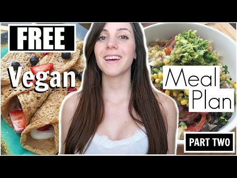 📓🍓PART TWO: VEGAN MEAL PLAN (Quick & Easy Plant-Based Meals)