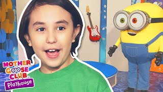 Wheels on the Bus Featuring Minions + More | Mother Goose Club Dress Up Theater #NurseryRhymes