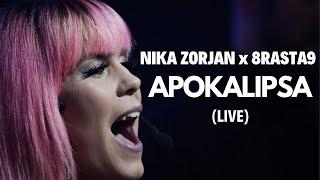 NIKA ZORJAN x 8RASTA9 - APOKALIPSA (Live @ Rap Camp - 15.12.2019.)