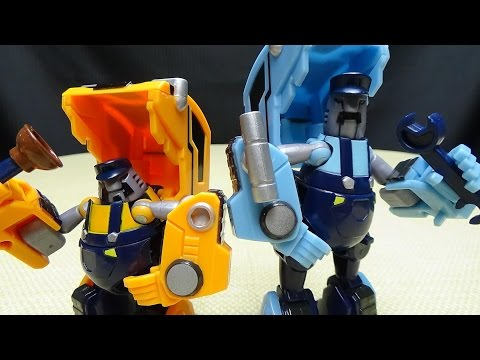 Mech Ideas BLUSTER & TRENCH (Animated Huffer & Pipes): EmGo's Transformers Reviews N' Stuff