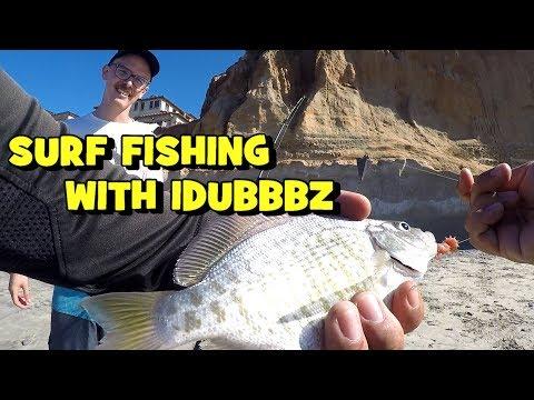 surf-fishing-with-idubbbz's-rod!-(2019-socal-trip---1/4)