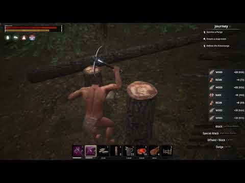 Conan Exiles - Harvesting Bark Efficiently