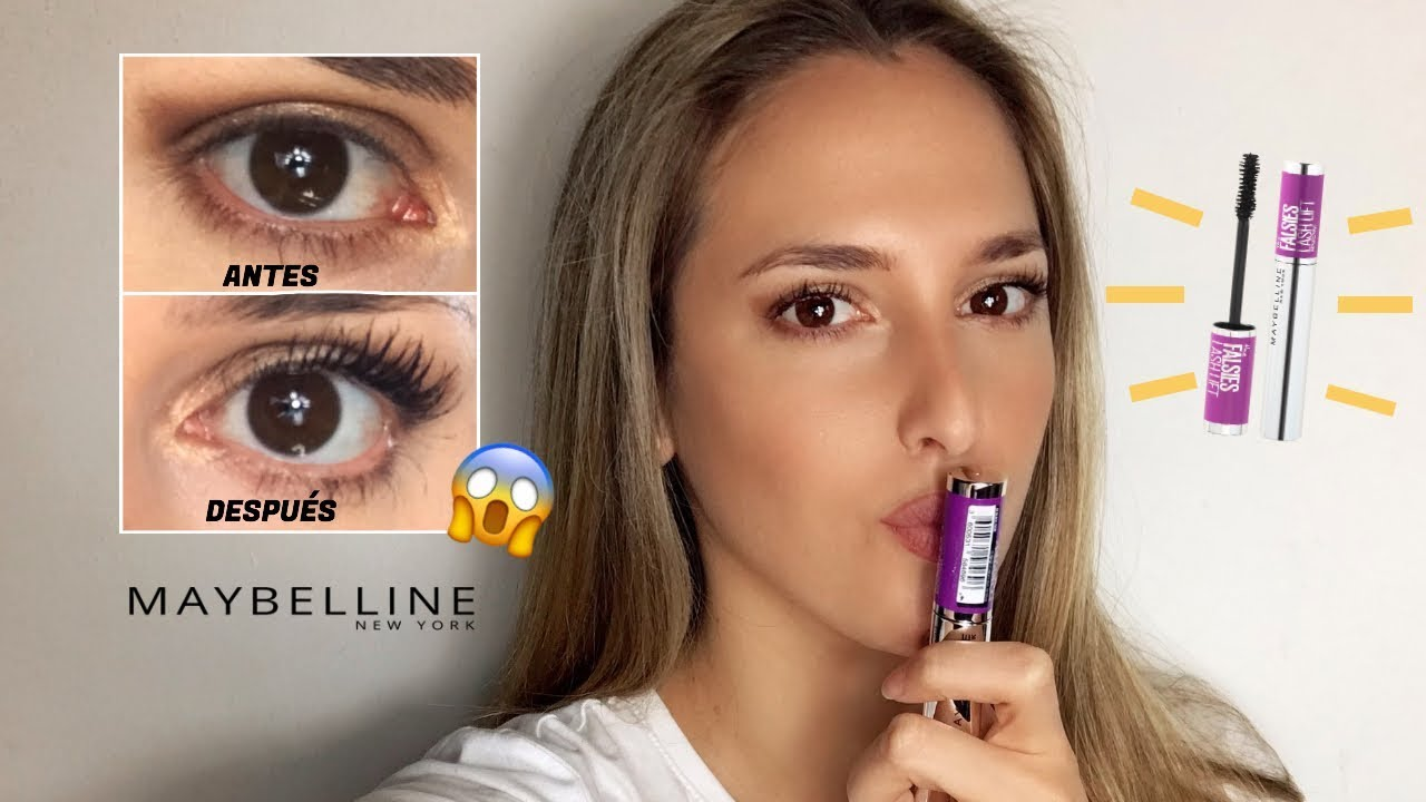 Máscara de pestañas falsies maybelline