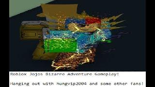 Roblox Jojos Bizarre Adventure Gameplay!