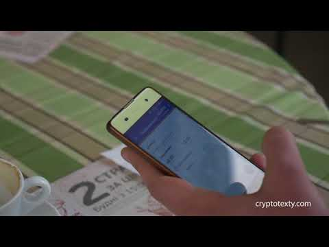 Paying with Crypto (DASH) for Coffee in Restaurant in Kyiv, Ukraine