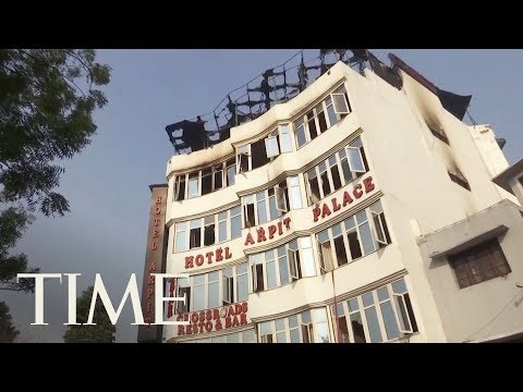 17 Dead, At Least 4 Injured As Fire Engulfs New Delhi Hotel | TIME Mp3