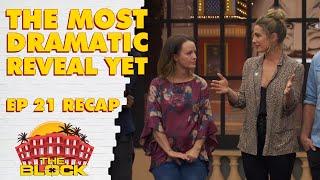 Episode 21 recap: Most dramatic room reveals yet   The Block 2019