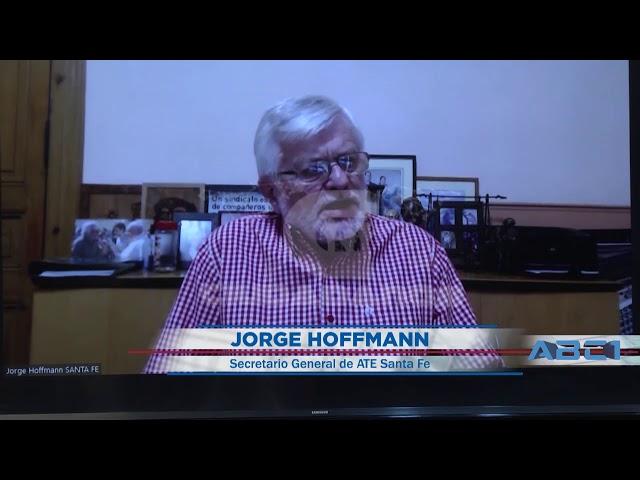 (Adelanto) Jorge Hoffmann, secretario General de ATE Santa Fe - ABC1 25 10 2020