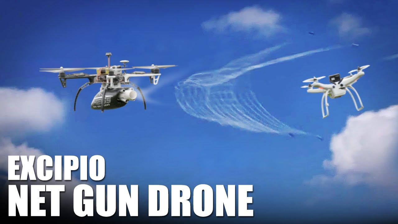 Net Gun Drone