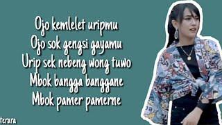 Turumu miring-happy asmara(lirik)terara lyrics)🎵