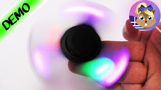 Fidget Spinner με Led φωτάκια!