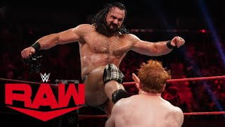 Drew McIntyre vs Sheamus Raw Sept 6 2021