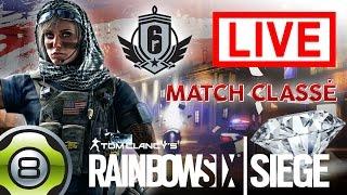 [FR] Live - En route vers le Diamant - Match classé - Rainbow Six Siege (25.07 dès 18:00)