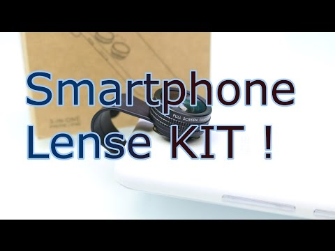 Smartphone Lens Kit Review - Macro, Fisheye And Wideangle ! - How To Take Incredible Pictures ! [HD]