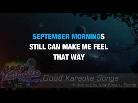 September Morn -  Neil Diamond (Lyrics Karaoke) [ goodkaraokesongs.com ]