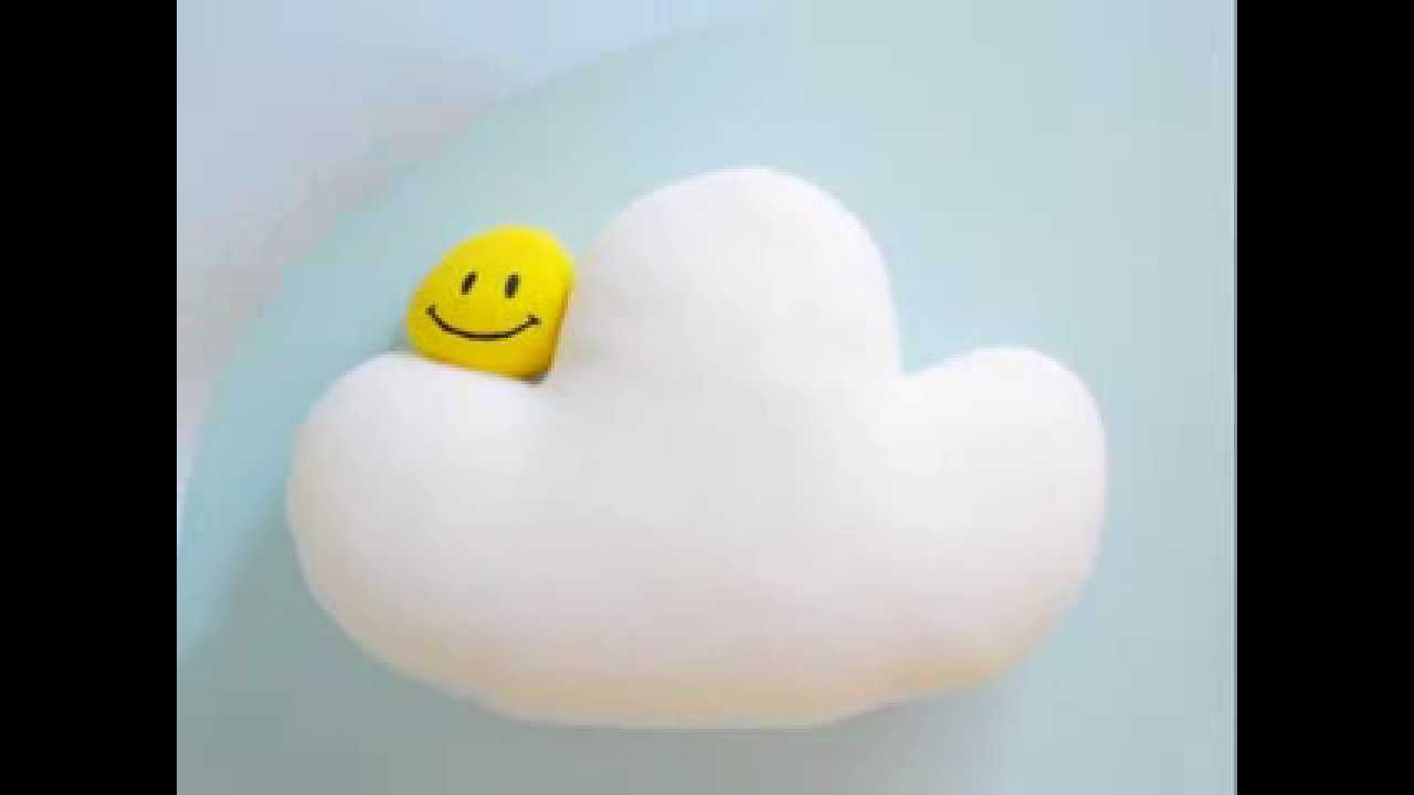 Pillow Cloud With Smiley Face Youtube