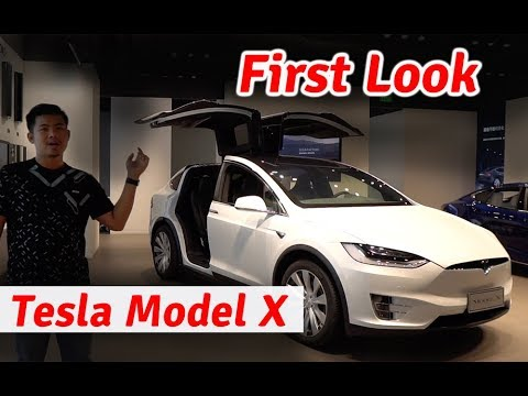 First Tour of Tesla Model X of CamCar Team