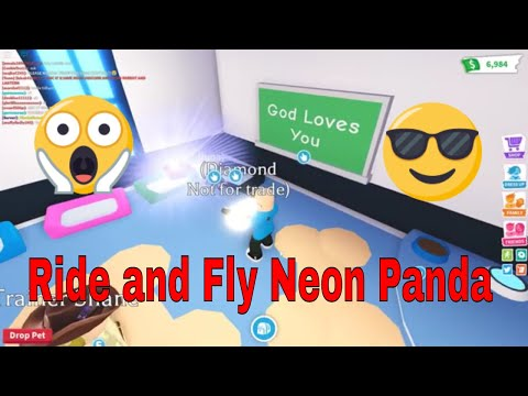 Adopt Me Neon Panda (Special Guest and Shoutouts)