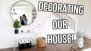 OUR NEW FURNITURE! DECORATING OUR HOUSE! $10 OFF COUPON CODE: LOVE1...