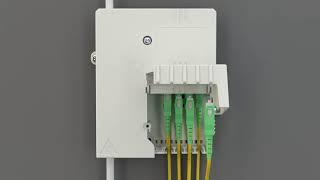 Nástěnný optický rozvaděč MTeH MINI video