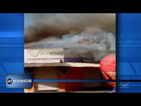 Polícia civil investiga as causas de um incêndio hoje em Andradina