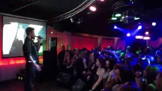 Начало концерта Макска Барских в городе Черновцы(28 апреля 2012 года Макс Барских выступил в РРК