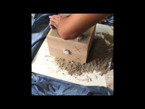 Fonderie aluminium moule sable vert