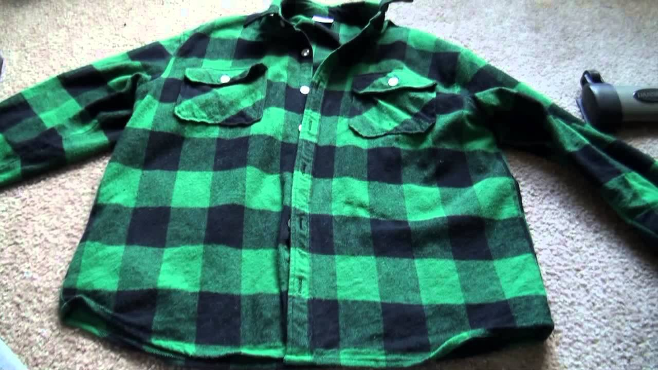 3975bfc5d77 Extra Heavy Weight Brawny Flannel Shirt by Rothco REVIEW - YouTube