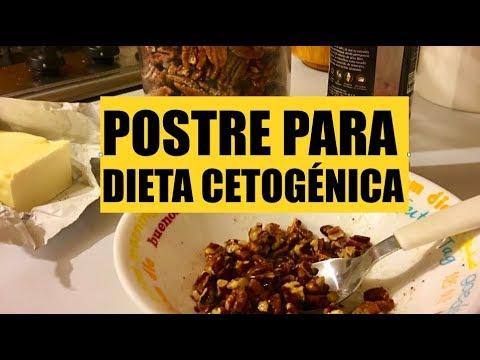 Recetas de postres para dieta cetogenica