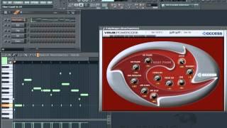 Ørjan Nilsen - Between The Rays In FL Studio ))