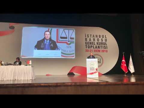 Başkan Adayımız Av. M. Gökhan AHİ'nin Genel Kurul Konuşması