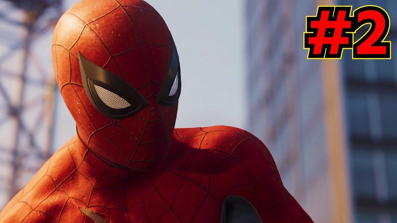 【Marvel's Spider-man】ついに神ゲー、はじめます #2