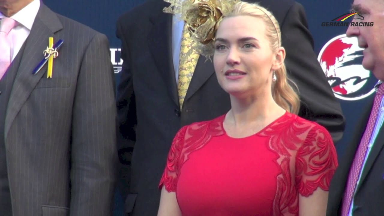 actress kate winslet (the reader, titanic) at the longines