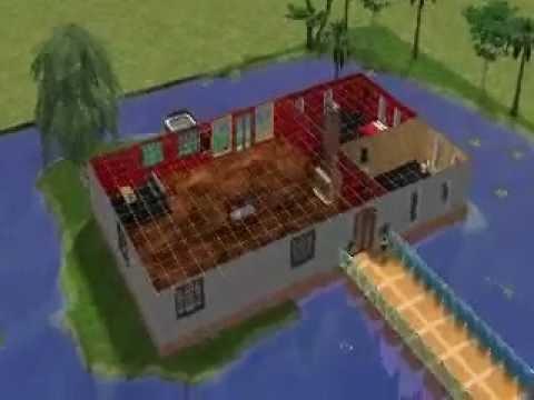 sims 2 faire une belle maison rapidement youtube. Black Bedroom Furniture Sets. Home Design Ideas
