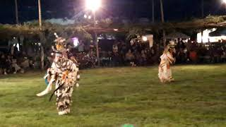 TAOS PUEBLO POW WOW 2019 DAY 1  - Friday Evening  Men's Grass Dance