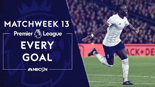 Every goal from Matchweek 13 in the Premier League  | NBC Sports
