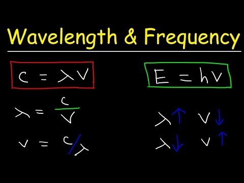 speed-of-light,-frequency,-and-wavelength-calculations---chemistry-practice-problems