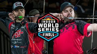 Kris Schaff v Stephan Hansen - compound men's gold | 2019 Indoor World Series Finals