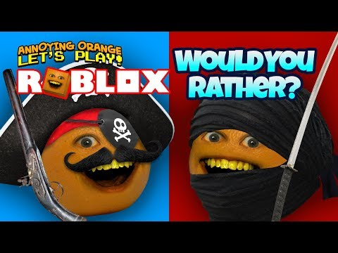 Roblox: Would You Rather? [Annoying Orange Plays]